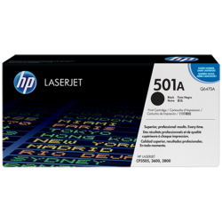 HP Q6470A Black Print Cartridge with ColorSphere Toner (6,000 pages*)