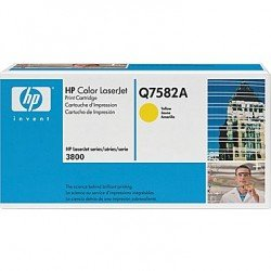 HP Q7582A Yellow Toner Cartridge (6,000 Pages*)