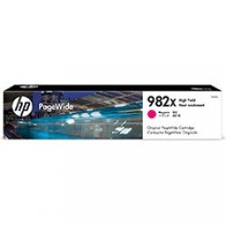 HP 982X High Yield Magenta Ink Cartridge (16,000 Pages*)