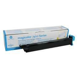 Konica Minolta 8938622 Yellow Toner Cartridge (12,000 pages*)