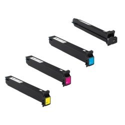 Konica Minolta PB-KMMC8650VAL CMYK Toner Cartridge Kit (save