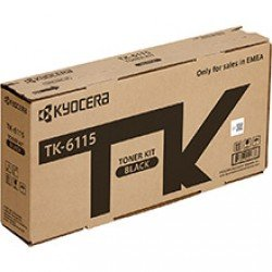 Kyocera TK-6115 Black Toner Cartridge (15,000 Pages*) 1