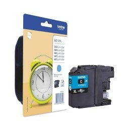 Brother LC-125XLC Cyan Ink Cartridge (1,200 pages*) LC125XLC