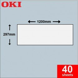 Oki A3 Banner Paper 297mm x 1,200mm - 160gsm