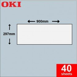 Oki A3 Banner Paper 297mm x 900mm