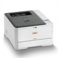 Oki C332dn A4 Colour LED Laser Printer left view