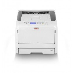 OKI C843dn A3 Colour LED Printer front view