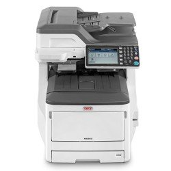 Oki MC853dn A3 Colour Laser Multifunction Printer front view