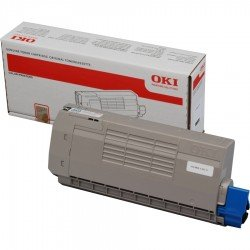 Oki 44318608 Black Toner Cartridge (11,000 pages*)
