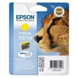 Epson C13T07144011 T0714 Yellow Ink Cartridge (5.5ml) C13T07144010
