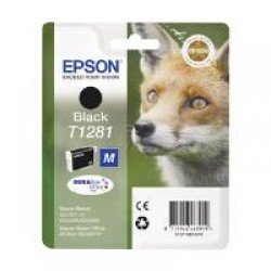 Epson C13T12814011 T1281 Black Ink Cartridge (5.9ml) C13T12814010