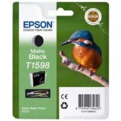 Epson T1598 Matte Black Ink Cartridge (17ml) C13T15984010