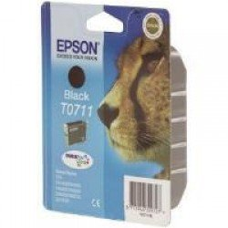 Epson C13T07114011 T0711 Black Ink Cartridge (7ml) C13T07114010