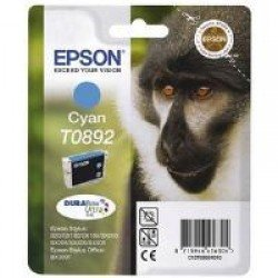 Epson C13T08924011 T0892 Cyan Ink Cartridge (3.5ml) C13T08924010
