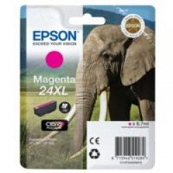 Epson T2433 High Yield 24XL Magenta Ink Cartridge (8ml) C13T24334010