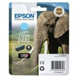Epson T2435 High Yield 24XL Light Cyan Ink Cartridge (8ml) C13T24354010