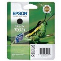 Epson T0331 Black Ink Cartridge (17ml) C13T03314010