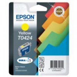 Epson T0424 Yellow Ink Cartridge (16ml) C13T04244010