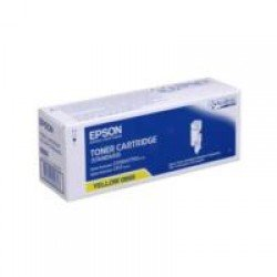 Epson C13S050669 Standard Yield Yellow Toner Cartridge (700 pages*)