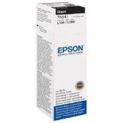 Epson C13T664140 T6641 Black Ink Bottle (4,000 pages*)