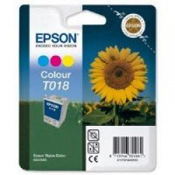 Epson C13T01840110 T018 3-Colour Ink Cartridge (37ml)