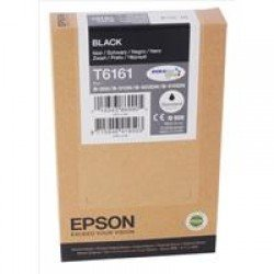 Epson T6161 Standard Black Ink Cartridge (3,000 pages*) C13T616100