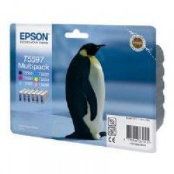 Epson T0559 6-Cartridge Ink Multipack (Penguin) C13T55974010