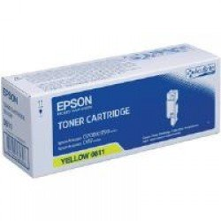Epson C13S050611 High Yield Yellow Toner Cartridge (1,400 Pages*)