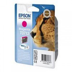 Epson C13T07134011 T0713 Magenta Ink Cartridge (5.5ml) C13T07134010