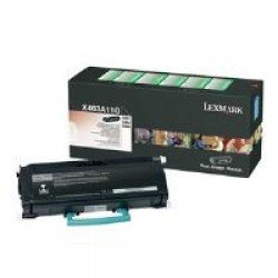 Lexmark X463A11G Standard Yield Black Return Program Toner (3,500 pages*) 0X463A11G
