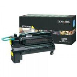 Lexmark X792X1YG Extra High Yield Yellow Return Program Toner Cartridge (20,000 pages*)