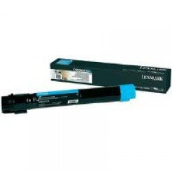 Lexmark C950X2CG Extra High Yield Cyan Toner Cartridge (24,000 pages*)