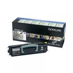 Lexmark X340A11G Black Return Program Toner Cartridge (2,500 pages*) 0X340A11G