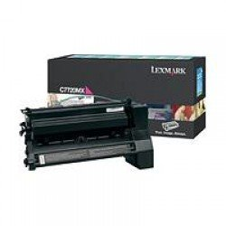Lexmark C7720MX Extra High Yield Magenta Print Cartridge (15,000 pages*) 00C7720MX