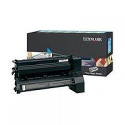 Lexmark C780H1CG High Yield Cyan Return Program Print Cartridge (10,000 pages*) 0C780H1CG