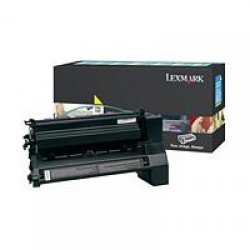 Lexmark C780H1YG High Yield Yellow Return Program Print Cartridge (10,000 pages*) 0C780H1YG