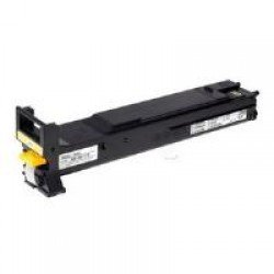 Konica Minolta A06V253 High Yield Yellow Toner Cartridge (12,000 pages*)