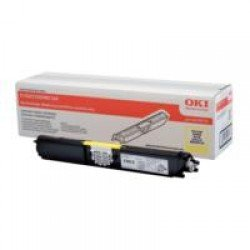 Oki 44250721 High Yield Yellow Toner (2,500 pages*)