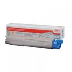 Oki 43459371 High Yield Cyan Toner Cartridge (2,500 pages*)