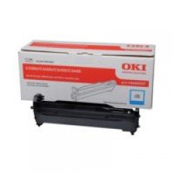 Oki 43460207 Cyan Drum C3334 (15,000 pages*)