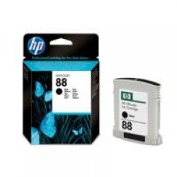 HP C9385AE No.88 Black Ink Cartridge with Vivera Ink (820 pages*)