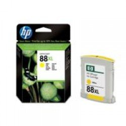 HP C9393AE No.88XL Large 17ml Yellow Ink Cartridge with Vivera Ink (17ml - 1,200 pages*)