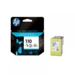 HP CB304AE 110 Tri-colour Ink Cartridge with Vivera Inks
