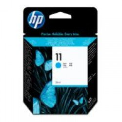 HP C4836A No. 11 Cyan Ink Cartridge (2,350 pages*)