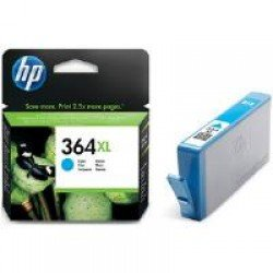 HP CB323EE#ABB No.364XL Cyan Ink Cartridge (6ml) CB323EE