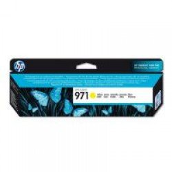 HP CN624AE 971 Yellow Ink Cartridge (2,500 pages*)