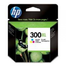 HP CC644EE No.300XL Tri-Colour Ink Cartridge (440 pages*)