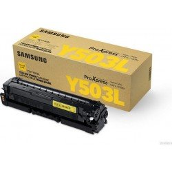 Samsung CLT-Y503L/ELS Yellow Toner Cartridge (5,000 Pages*)