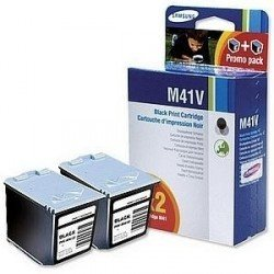 Samsung INK-M41VELS Black Ink Cartridge Twin Pack INK-M41V/ELS