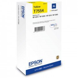 Epson C13T755440 XL Yellow Ink Cartridge (39ml / 4,000 pages*)